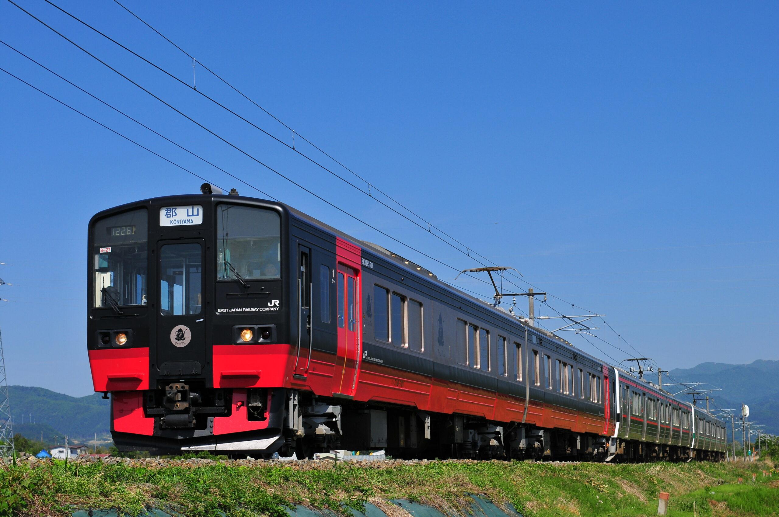 フルーティアふくしま乗車と会津若松の歴史を訪ねて